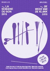 Affiche semaine du son 2015